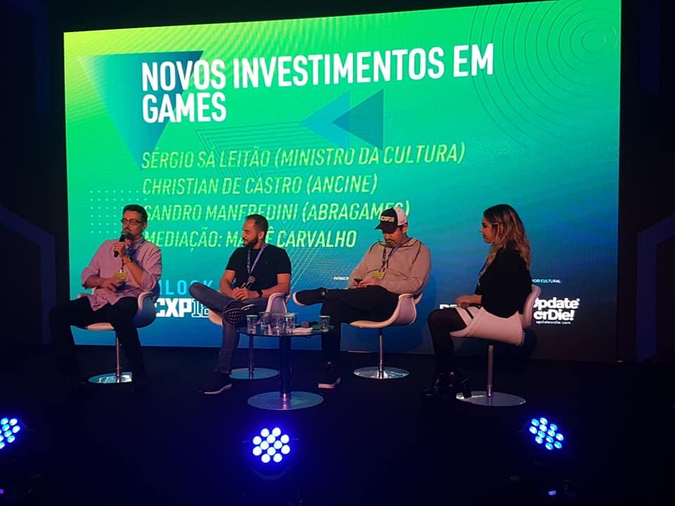 f3df15581af Anúncio na CCXP Unlock  R  45 milhões para produção e comercialização de  games e VR está contemplado